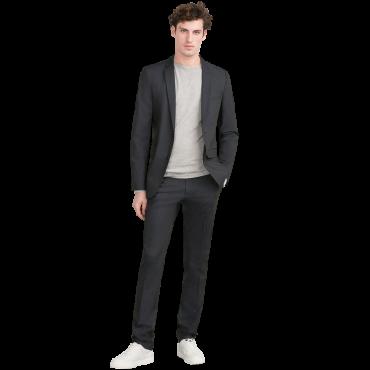 Basic Two-Tone Suit