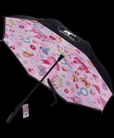 Children's Inside Out Inverted Umbrella Princess