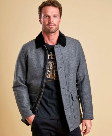 Chingle Tweed Wool Jacket