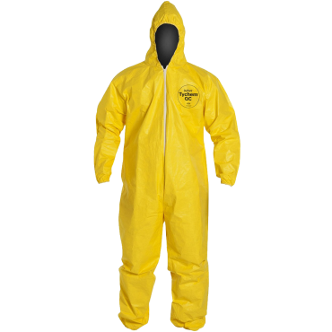 DuPont QC127S Tychem Fabric Protective Coverall