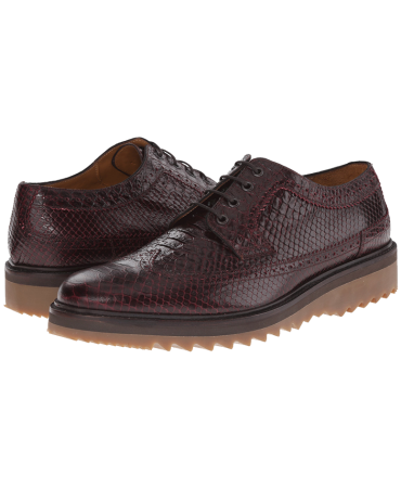 Marc Jacobs Scaled Oxford with Jagged Bottom