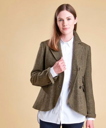 West Ray Tailored Tweed Jacket